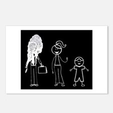 Pooped on Dad-one daughter Postcards (Package of 8