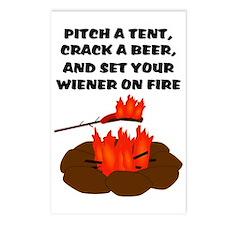 Wiener On Fire Postcards (Package of 8)
