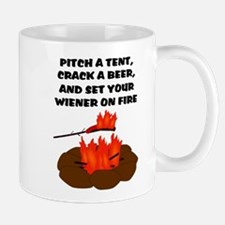 Wiener On Fire Mug