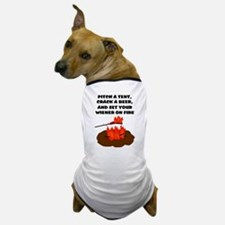 Wiener On Fire Dog T-Shirt