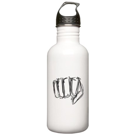 Fist Sketch Stainless Water Bottle 1.0L