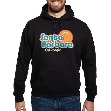 Santa Barbara California Hoodie (dark)
