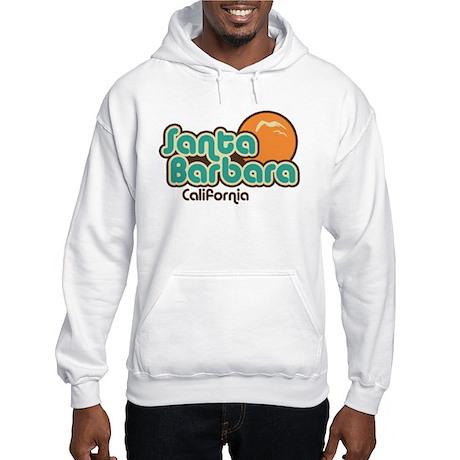 Santa Barbara California Hooded Sweatshirt