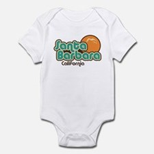 Santa Barbara California Infant Bodysuit