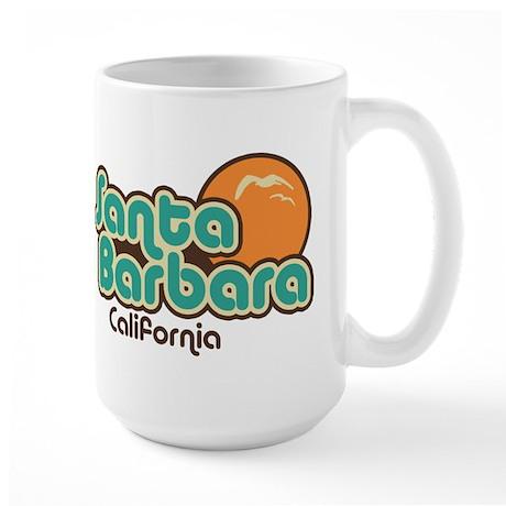 Santa Barbara California Large Mug