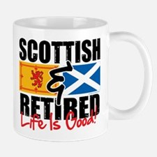 Scottish & Retired Mug