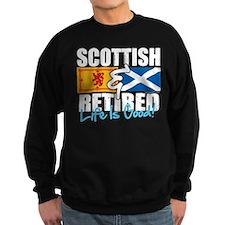 Scottish & Retired Sweatshirt