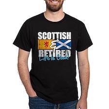 Scottish & Retired T-Shirt