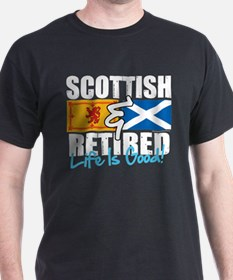Scottish & Retired T-Shirt