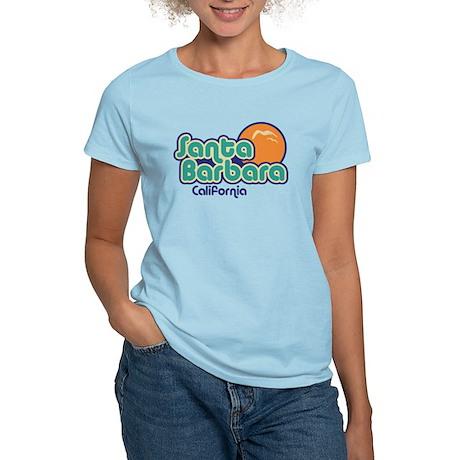 Santa Barbara California Women's Light T-Shirt