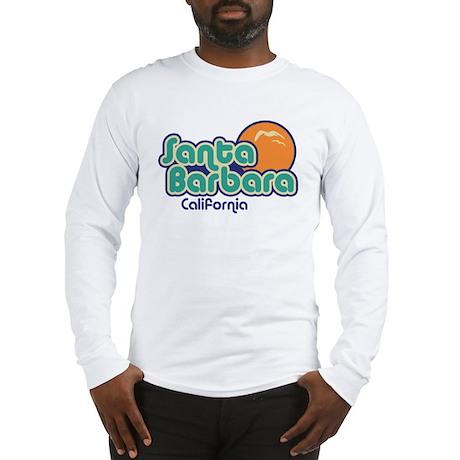 Santa Barbara California Long Sleeve T-Shirt