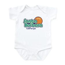 Santa Barbara California Infant Bodysuit