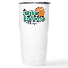 Santa Barbara California Travel Mug