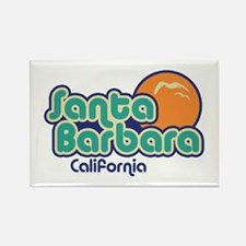 Santa Barbara California Rectangle Magnet