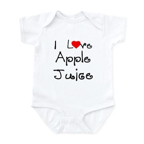 I Love Apple Juice Infant Creeper