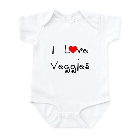 I Love Veggies Infant Creeper