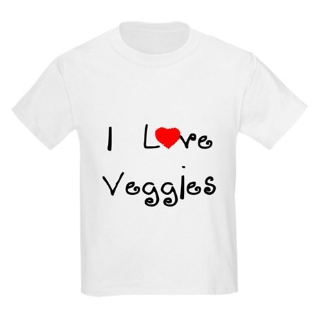 I Love Veggies Kids T-Shirt