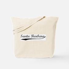 Vintage Santa Barbara Tote Bag