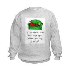 Grandpa's Nap Sweatshirt