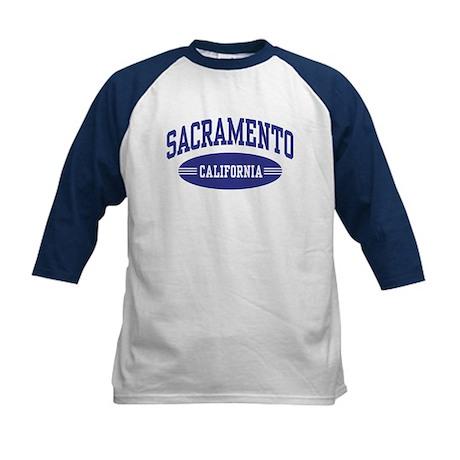 Sacramento California Kids Baseball Jersey