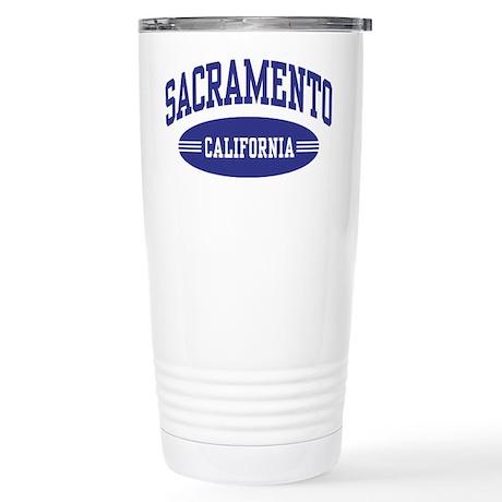 Sacramento California Stainless Steel Travel Mug