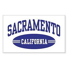 Sacramento California Decal