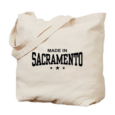 Made In Sacramento Tote Bag