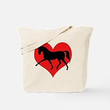 Unique Warmblood horse Tote Bag