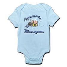 Awesome Being Nicaraguan Infant Bodysuit