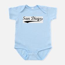 Vintage San Diego Infant Creeper