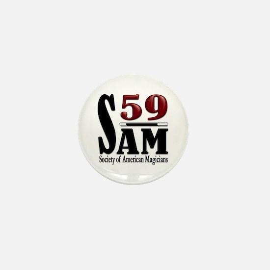 Cute Sam Mini Button
