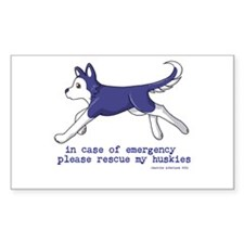 Sled dogs Decal