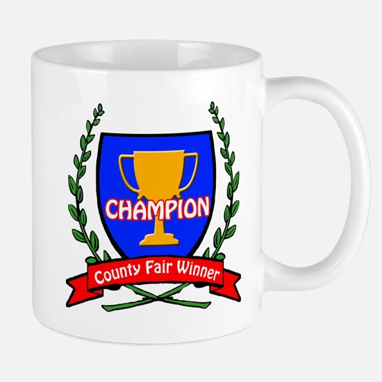 County Fair Winner Mug