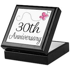 30th Anniversary Gift Keepsake Box