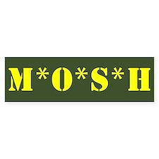 M*O*S*H Bumper Bumper Sticker