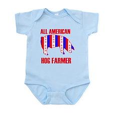 All American Hog Infant Bodysuit