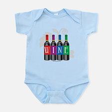 Wine Bottles Infant Bodysuit