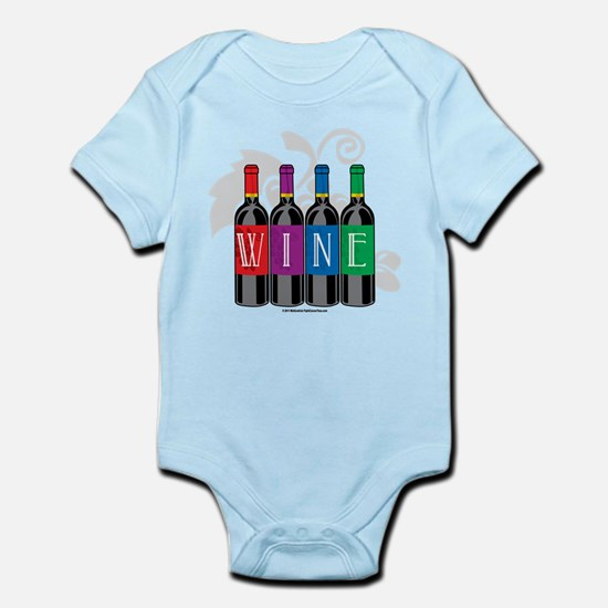 Wine Bottles Infant Bodysuit