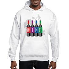 Wine Bottles Jumper Hoodie