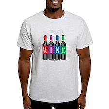 Wine Bottles T-Shirt