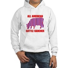 All American Cattle Rancher Hoodie