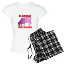 All American Cattle Rancher Pajamas