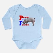 Proud Pig Farner Long Sleeve Infant Bodysuit