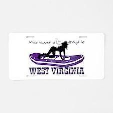 What Happens in WV Aluminum License Plate