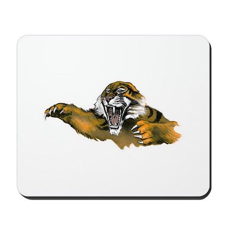 Attacking Tiger Mousepad