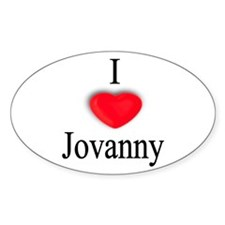 Jovanny Oval Decal