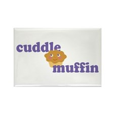 Cuddle Muffin Rectangle Magnet