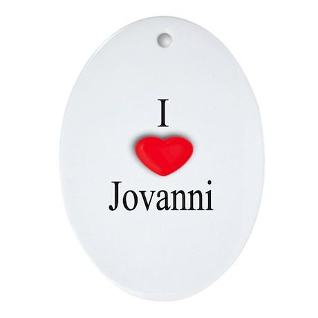 Jovanni Oval Ornament
