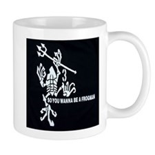 Cute Navy frogman Mug