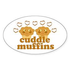Cuddle Muffins in Love Decal